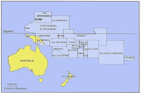 La Polynésie, c'est où ?