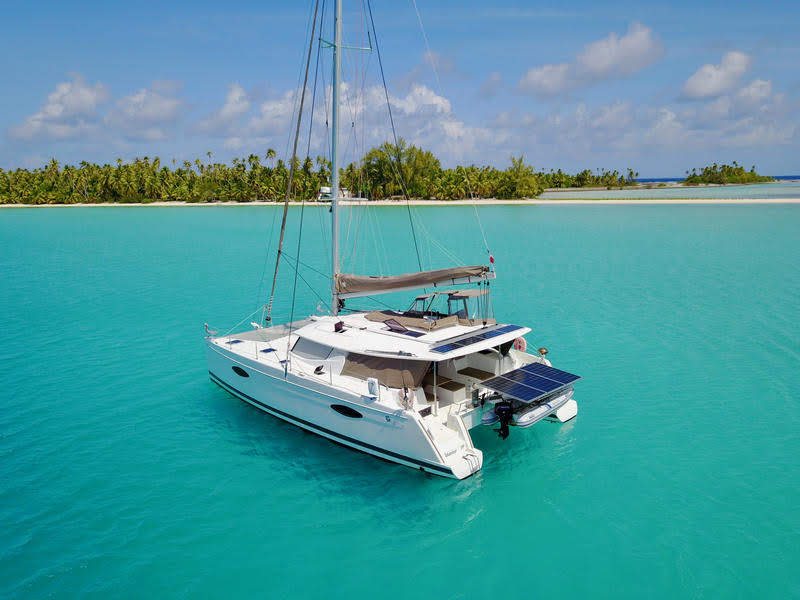 Fakarever photo: Fountaine Pajot Helia 44 de 2015