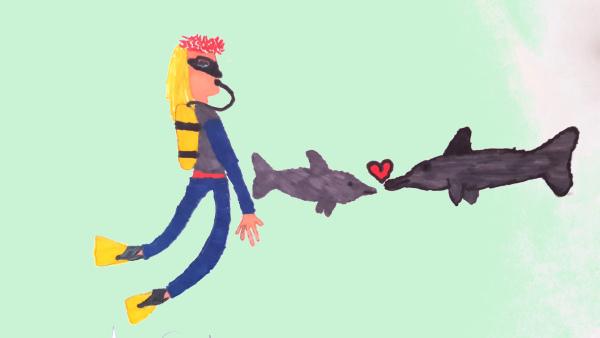 Agathe et les dauphins